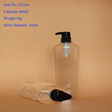 hair care pet bottles for personal care cosmetic manufacturer