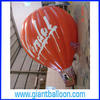 PVC Advertising Curvy Hot Air Balloon for sale