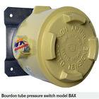 BAX Wika IP65 Bourdon tube pressure switch, hydraulic pressure switch