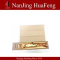 china venda quente do convite do casamento caixa de rolagem
