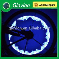 Hot selling bicycle wheel light Glovion 30 pattern change spoke light bike spoke light