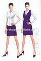 Personalizado de la moda de trajes de negocios para las mujeres, las niñas de las señoras traje de la oficina de uniforme, uniformes de oficina para las señoras