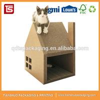 Luxury Cat Toy Corrugated Cat Scratcher Cat Scratching House