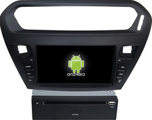 Glonass ! Android 4.4 touch screen car dvd GPS for Citroen Elysee/peugeot 301 +qual core +OEM+factory directly