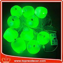 Artificiales de frutas decorativas y vinagre botella decoración