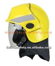 Tecron Safety Fire Fighter Helmet / Fire fighting Helmet / EN443 Helmet