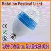 Good Performance Dimmable Rotating Globe Light Bulb Lamp