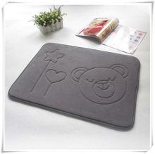 Multi-purpose cat car mat/Memory foam bath mat_ Qinyi