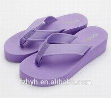 Colorful EVA wedge sandals