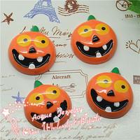 resin pumpkin for Halloween Resin Cabochon flat back 23*25mm