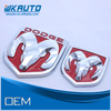 ABS red color car brand logoes front and rear badges auto emblems