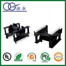 ETD59 horizontal plastic coil bobbin with 12+12pin