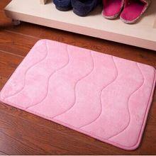 Brand floor mat/Memory foam bath mat_ Qinyi