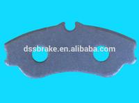 disc brake pad backing plate for Chinese car brake pad D1190