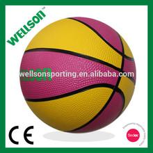 Children rubber basketball