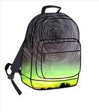 2014 fashion flash bag school student backpack HIKing