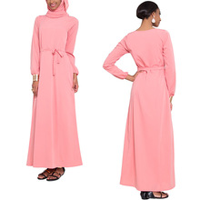 alibaba OEM china supplier abaya latest design muslim long sleeve muslimah jubah