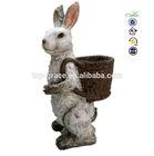 2015 garden Easter rabbit figurines collectables