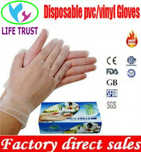 hand protection disposable vinyl pvc gloves waterproof good quality safety