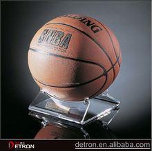 Customized basketball acrylic display stand holder