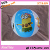 16'' promotional PVC inflatable ball with cartoon logo