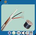 Hangzhou cable coaxial rg59 de alimentación de seguridad cctv cámara/cable coaxial cable/baratos de alambre
