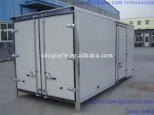south american dry truck cargo truck body