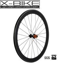 Nouveau 2015 700c full carbone roues de vélo, roues en carbone