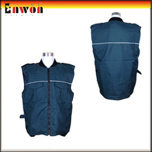 Reflective Safety Body Warmers For Men