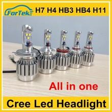 Error free canbus30w 20w cree led car headlight H4, H7, H8, H9, H13, H16, 9005, cree Headlight bulbs made in china