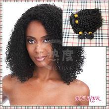 AAAAAA high quality hair shape keep well indian kinky curly hair