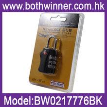OEM acceptable TSA combination locks