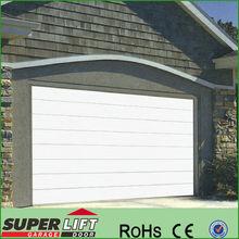 Superlift overhead garage door,CE cert. sectional garage door panel