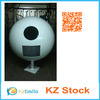 white color landscaping stainless steel sphere