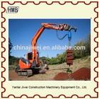 mini excavator earth auger