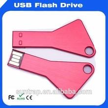 Logo Printed Key USB Flash Drive; Key USB Stick; Key Pen drive ;USB2.0