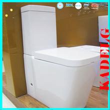 European design AAA quality two pieces power flush toilet bowl