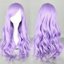 Top Fashionable deep Purple Cosplay anime Wigs