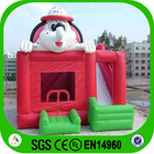 inflatable cartoon dog bouncer slide inflatable house for kids