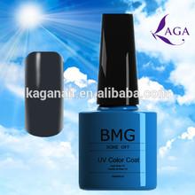 BMG empty nail polish bottle crystal nails uv gel kits