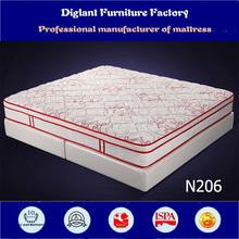 Vacuum packed memory foam mattress