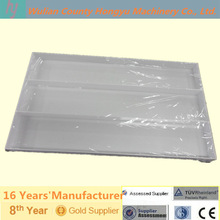 hot sale 3 compartment plastic tray