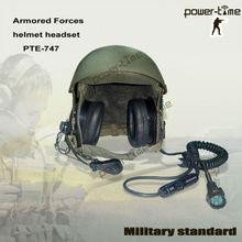 MILITARY PILOTS VHF Helmet