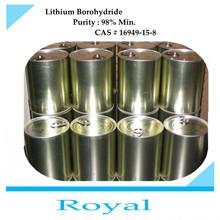 Lithium Borohydride 98% CAS No. 16949-15-8