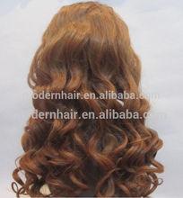 Beautiful style 24inch 130%density #12 front lace wig , virgin brazilian human hair wigs for black women