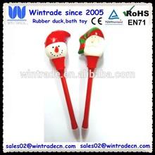 Christmas pen snowman & santa clause pen