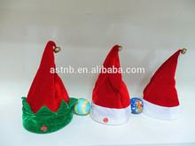 2014 High Quality dancing christmas hats musical dancing hat / singing christmas hats