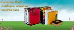 book printing service -- Professional hardcover book Printing