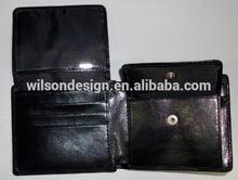 genuine leather travel men's wallet