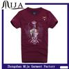 New model embroidered shirts 2014 Custom design of men fashion t shirt